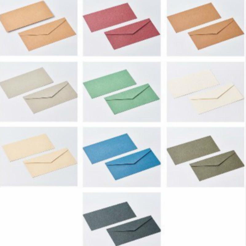 cor pure numero 5 em branco papel kraft envelope 05