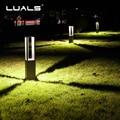 Extérieur pelouse lampe communauté route lumières LED éclairage luxueux jardin paysage lampes aluminium lumière corps jardin Art éclairage