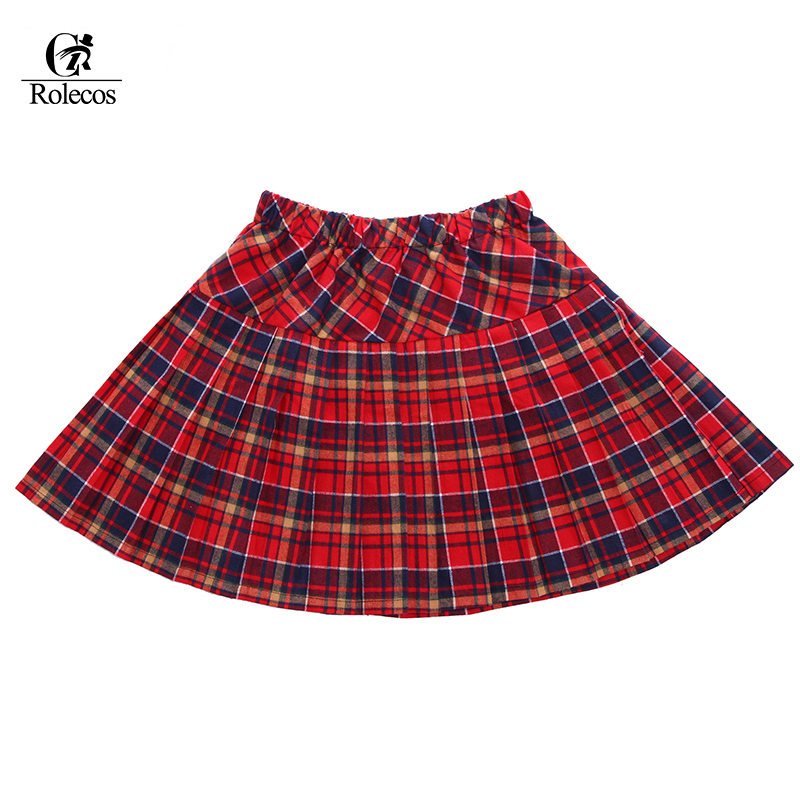 Popular Red Pleated Plaid Skirt-Buy Cheap Red Pleated Plaid Skirt ...