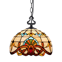 European Garden restaurant meal Tiffany pendant bedroom study retro pastoral corridor aisle creative lighting free shipping 15cm european sunflower pendant tiffany glass bar balcony corridor for the study of lighting fixtures