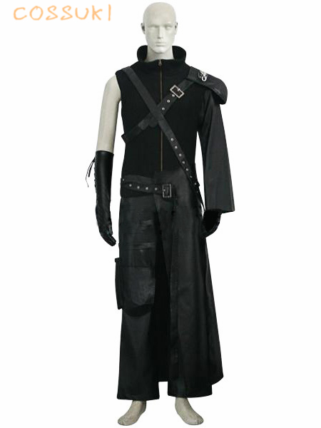 Final Fantasy VII 7 Advent Children Cloud Strife Uniform Cosplay Costume Perfect Custom For You