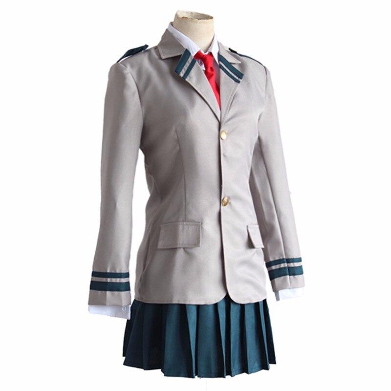 Image 2 - Anime Boku no Hero Academia OCHACO URARAKA Midoriya Izuku Cosplay My Hero Academia Cosplay Costume School Uniform Sportswear-in Anime Costumes from Novelty & Special Use