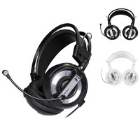 High Quality 2m USB 3 5mm Surround Stereo Gaming Headset Headband Headphone With Mic For PC