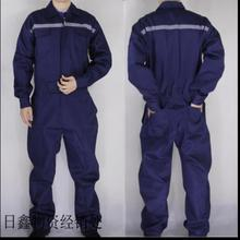 Мужской цельный комбинезон из полиэстера и хлопка размера плюс, защитный зимний комбинезон для механики электрика, рабочая фабричная одежда