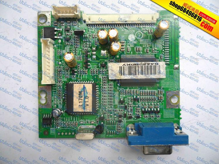 Free Shipping>L170 logic board 6870T772A61 driver board / motherboard / signal board-Original 100% Tested Working free shipping x203h logic board ptb 2103 6832210300p01 driver board motherboard original 100% tested working