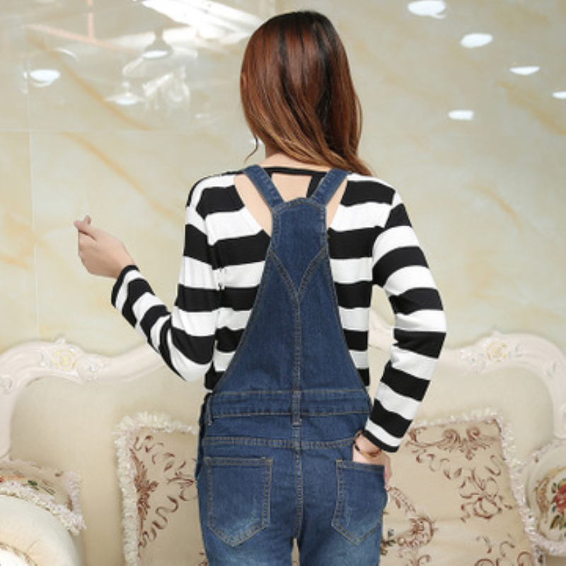 1619753ddad Maternity Jeans Pants For Pregnant Women Clothes Pregnancy jumpsuit  Clothing Bib Overalls Femme Enceinte Trounsers M233-in Jeans from Mother    Kids on ...