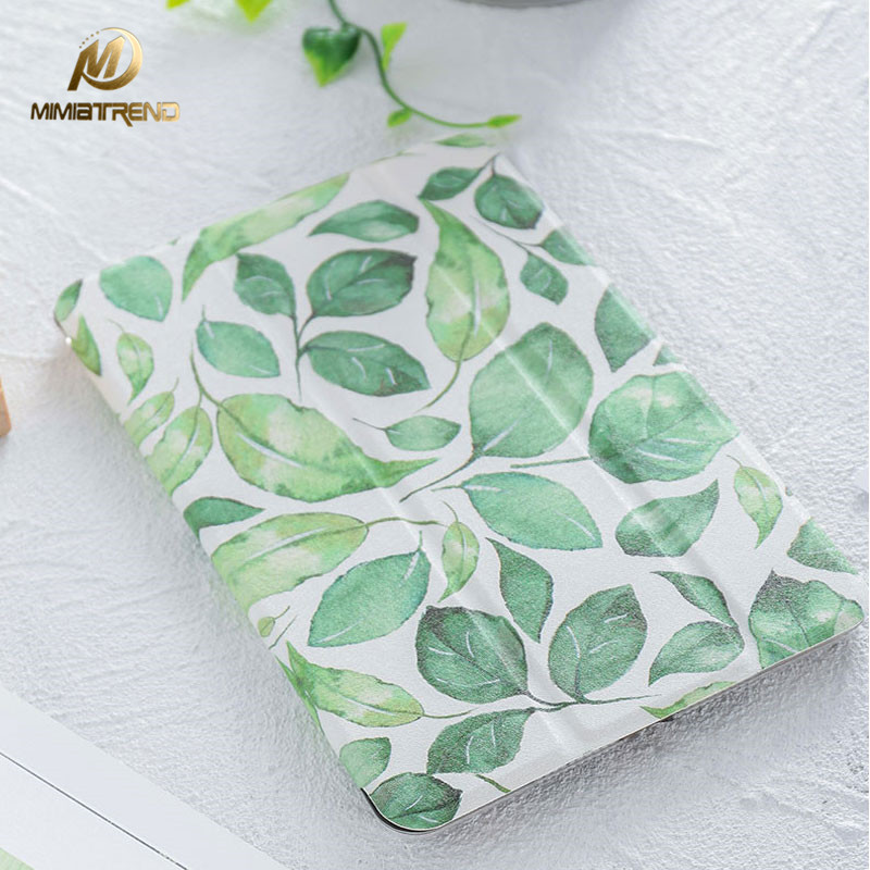 Mimiatrend 2017 Leaves Magnet Flip Cover for iPad Pro 9.7 Air Air2 Mini 1 2 3 Tablet Case Shell + Screen Protector + Phone Case mimiatrend tige for apple ipad air 1 2 air2 flip pu leather case smart cover for new ipad 9 7 2017 tablet case for ipad pro 9 7