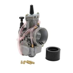 Image 2 - Zsdtrp Motores ciclo Keihin Koso PWK carburador 21 24 26 28 30 32 34mm con Power Jet fit en Racing Motores