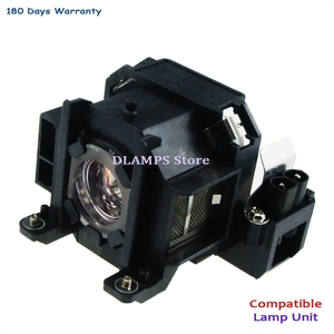 Image 5 - Replacement EMP 1700 EMP 1705 EMP 1707 EMP1710 1715 / 1717 EX100 1700c 1705c projector bulb with housing V13H010L38 For EPSON