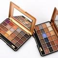 El envío libre Favorables 24 A Todo Color Paleta de Sombra de ojos Sombra de Ojos Maquillaje Caliente Cosméticos Contienen Color Mate Y Brillo de América Del Sur