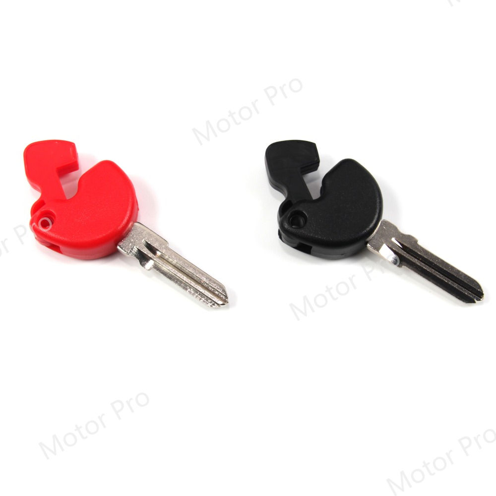 Uncut Blade Blank Key For PIAGGIO Vespa GTS 125 200 259 300 Motorcycle Accessories With Logo Red GTS125 GTS200 GTS259 GTS300