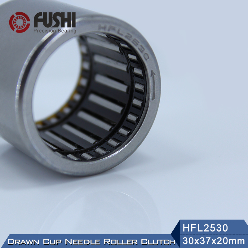 HFL2530 Bearing 25*32*30 mm ( 1 PC ) Drawn Cup Needle Roller Clutch FCB-25 Needle Bearing na4910 heavy duty needle roller bearing entity needle bearing with inner ring 4524910 size 50 72 22