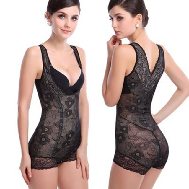 fdd04c8f1bb3e Good  Full Body Shaper Tummy Control Waist Cincher Girdle Corset Shapewear  Bodysuit