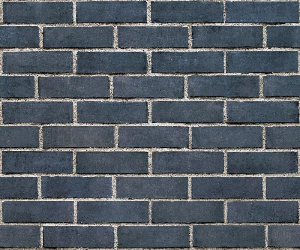 3D Antique Brick Modern Chinese Restaurant Clothing wallpaper Retro Brick Green Brick Wallpaper Wallpaper for walls SA-1009