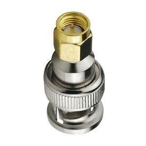 Image 3 - 2 uds cable coaxial rf adaptador SMA macho a BNC macho