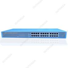 24 ports gigabit metallic field Ethernet/community swap 1000m for IP digital camera. IP telephone, community options