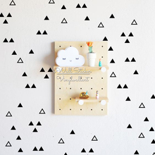 Cute Triangles Wall Sticker Baby Nursery Decal Hollow Decor Easy Art Cut Vinyl P41