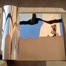 50x100 см ПВХ стикер на стену, клейкая домашняя поверхность, влагостойкая, анти-плесень, анти-загрязнения, отражающая пленка, Зеркальная Наклейка, домашний декор