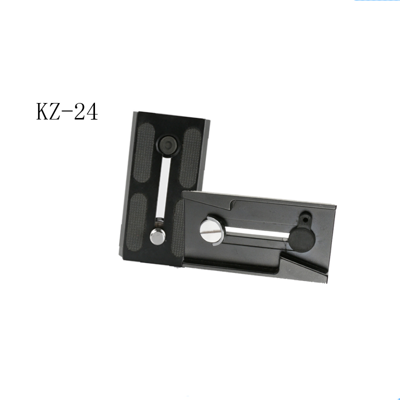Bexin new KZ-24 quick release plate allows you camera Release different charm&apply to the SLR camera& ball head