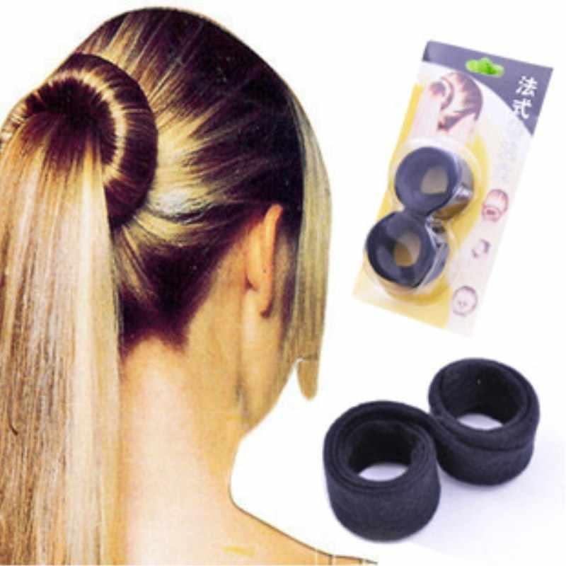 Femmes diadème mode mariage mariée cheveux bijoux accessoires bandeau disque magique torsion cheveux Styling Maker outil pour femmes filles