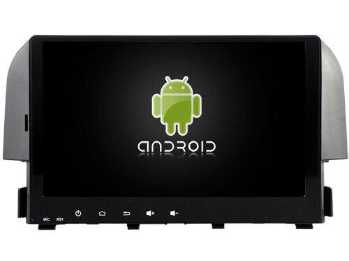 Navirider car dvd autoradio android 6.0 4G lite wifi gps screen Fit for HONDA CIVIC 2016 Bluetooth navigation car dvd