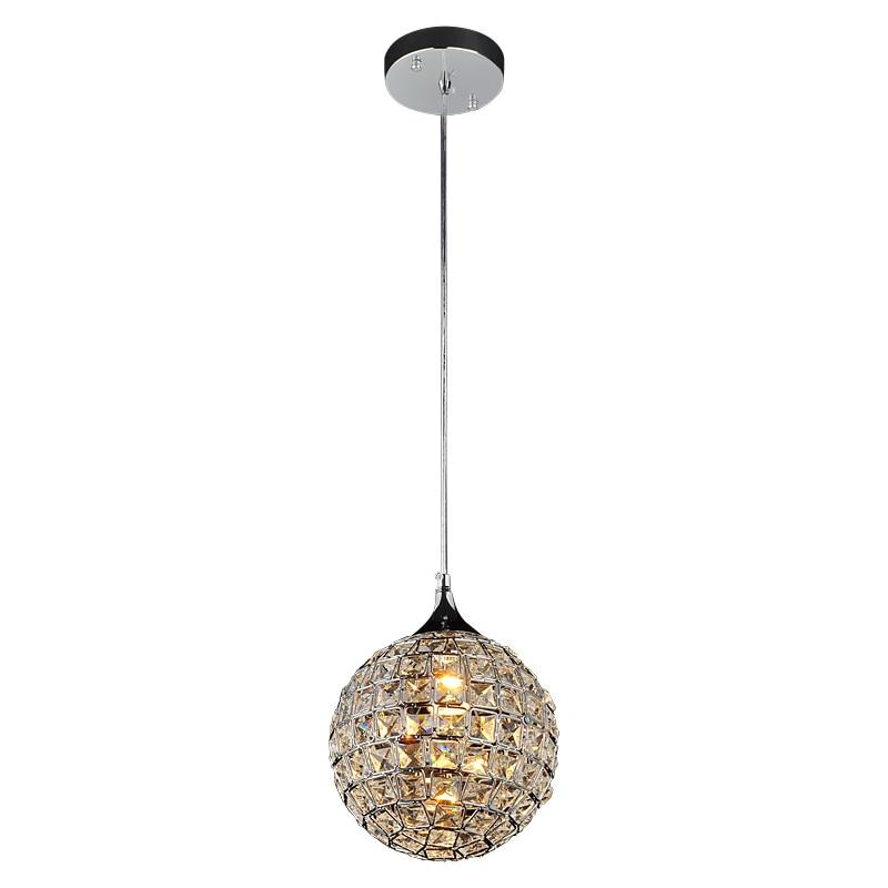 "Modern 8"" Crystal Dining Room Pendant Lights Ablaze"