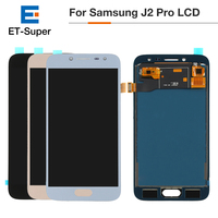 20Pcs/Lot AAA+++Display For Samsung Galaxy J2 Pro 2018 J250 OEM LCD Touch Screen Digitizer Assembly Brightness Adjustable