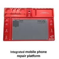 1 шт. мобильный телефон ремонт сварки инструмент высокого Температура сопротивление Алюминий сплава обслуживания на платформе для работы м