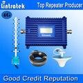 Lintratek pantalla lcd 4g lte amplificador de señal 1800 mhz 70db de ganancia GSM Repetidor 4G 1800 MHz Amplificador de Señal De Teléfono Móvil Kit Completo F18