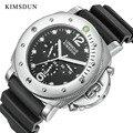 Relogio KIMSDUN marke klassische männer der trend luxus casual automatische mechanische sport mode big uhr silikon strap militär Mechanische Uhren    -