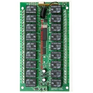 Image 2 - Interruptor remoto de relé de 18 canales y 12V CC, receptor de 18 botones, transmisor remoto de contacto RX TX, lámpara de luz, inalámbrico para casa inteligente