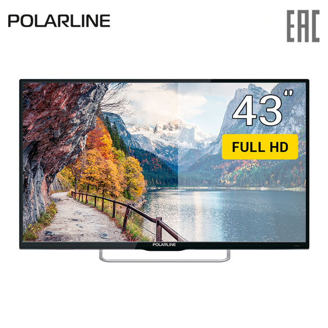 "Телевизор 43"" Polarline 43PL51TC FullHD"