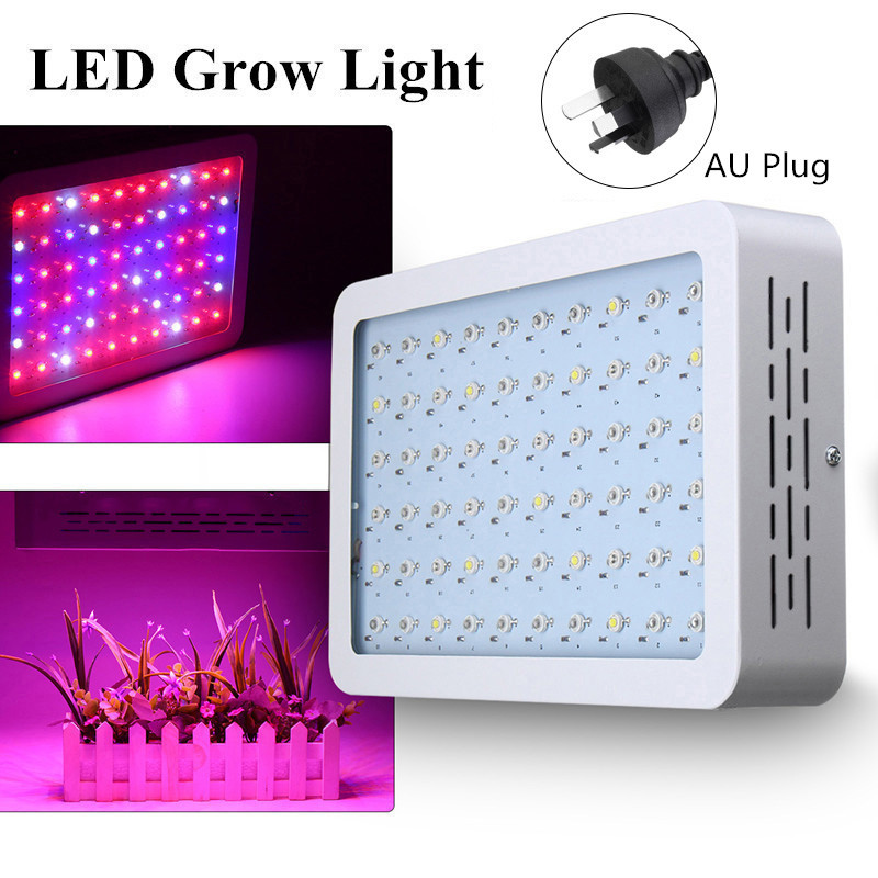 все цены на Smuxi 300W LED Growing Light for Plants Full Spectrum Grow Light Veg Flower Hydroponics Indoor Plant Lamp Panel онлайн