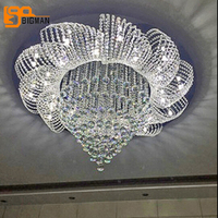 Free shipping new modern crystal chandelier lighting fixtures Dia80*h60cm lustres home LED light
