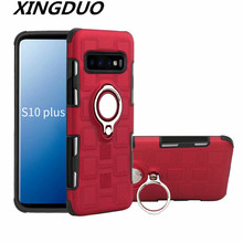XINGDUO 2 in 1 case PU+TPU Anti-knock Rotatable Ring for iphone X XS MAX XR Business style Separable iphone6 6S 7 PLUS