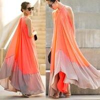 Summer Sexy Bohemian Stitching Dress Women Beach Long Dresses Infinity Robe Maxi Elegant Girl Thin Dress