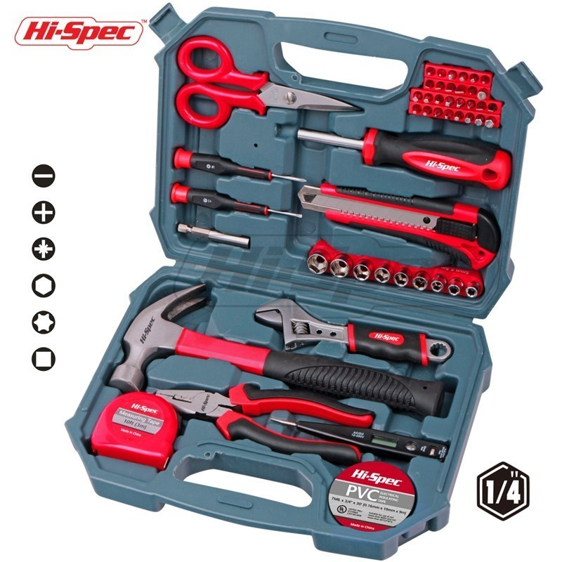 Hi-Spec 49pc Hand Tool Set Repair Tool Kit for Household Socket Screwdriver Bit Set Combination Pliers Adjustable Wrench Knife s m s l smsl t1 dac tube headphone amplifier preamplifier hifi exquis dsd 512 384khz xmos usb decoder pre amp earphone amp