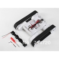 Free shipping Rover 5 chassis 2WD tank chassis settable ground clearance robot tank platform with 2 quadrature encoder