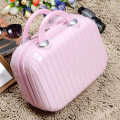 Cute Mirror Cosmetic Bag Cosmetic Case Travel Suitcase 14inch Makeup Bags