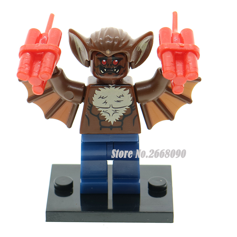 Single Sale Man Bat 70905 The Batman Movie Super Hero Mini Dolls Building Blocks kids diy bricks educational toy