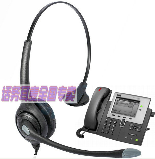 Multi functional Telephone Headset Earphone Headphones for Cisco Telephone  CP 7940 7941 7942 7945 7960 7961 7975 6911 7821 7841-in Headphone/Headset  from ...