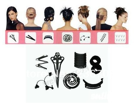 hairagami the total hair makeover kit styling accessories headwear