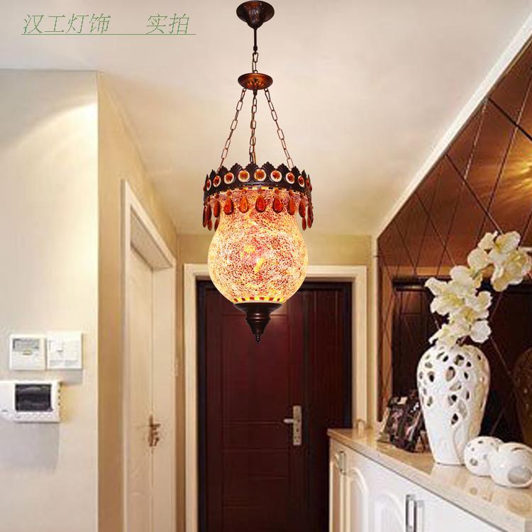 Newest stytle Turkey ethnic customs handmade lamp romantic cafe restaurant bar tree Pendant light bar Pendant lamp