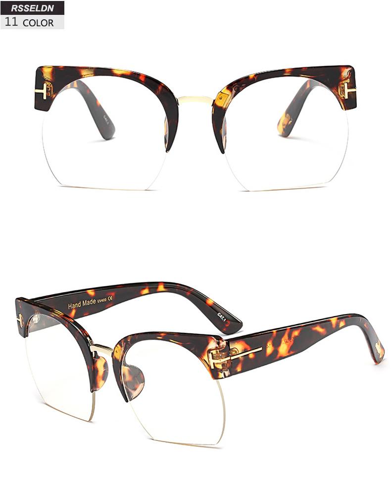 HTB1xlqlSpXXXXaoXXXXq6xXFXXXM - RSSELDN Newest Semi-Rimless Sunglasses Women Brand Designer Clear Lens Sun Glasses For Women Fashion Sunglass Vintage oculos