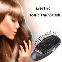 Electric Ionic Styling Hairbrush Ions Hair Brush Comb Hair Modeling Magic Beauty Massage Hairbrush Makes Hair Softer Shinier