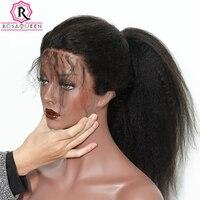 Странный прямо Full Lace парики Бразильский Glueless парик шнурка грубая яки человеческих волос парики для Для женщин длинные черные Remy Rosa queen