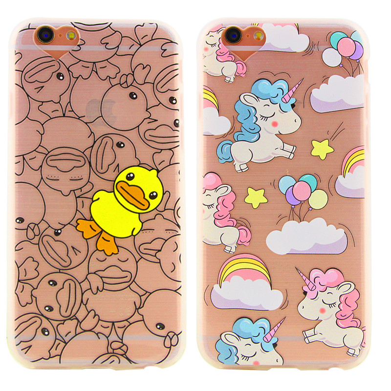 New Soft Phone Case For iPhone 6 6 Plus Classical Cartoon font b Figure b font