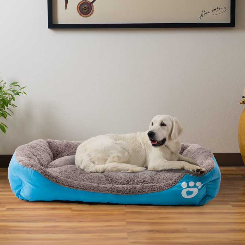 Naturelife Pet Dog Bed Warming Dog House Soft Material Pet Nest Dog Fall and Winter Warm Nest Kennel For Cat Puppy Plus size