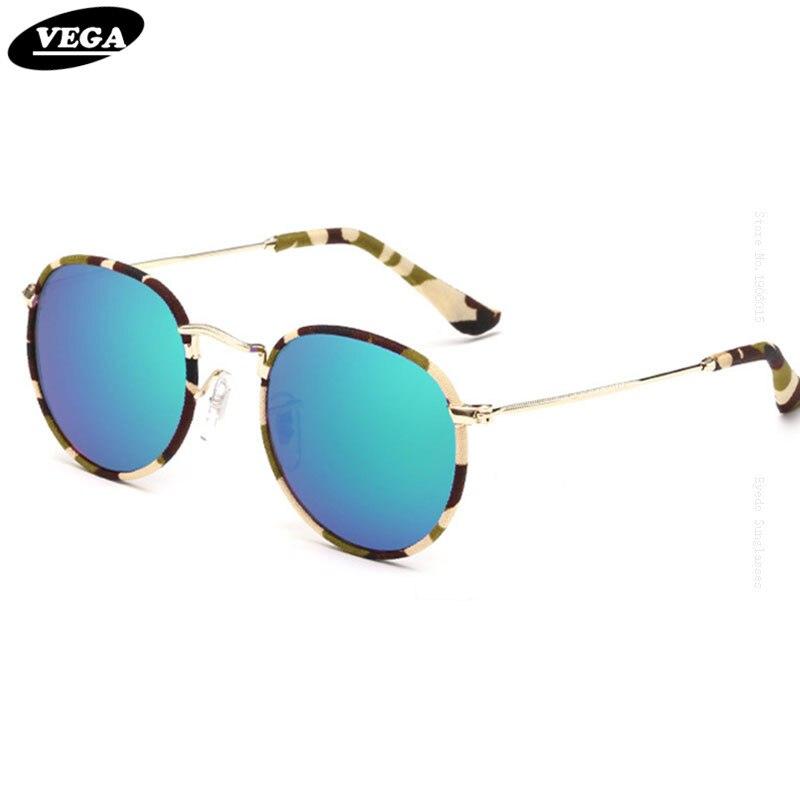 c91cd454b فيغا البيضاوي كامو النظارات الشمسية الجدة التفاف حول التمويه النظارات  الشمسية النساء الرجال محب نظارات HD الليلية B47