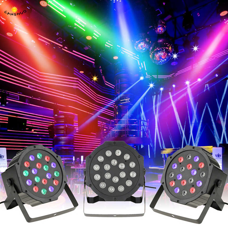 Параболический алюминизированный отражатель для детей от 6 до 12 лет 18 36 54 светодиодный сценическое rgb-освещение DMX512 клуб диско вечерние бальный зал КТВ Бар Свадебные DJ прожектор светодиодный Par